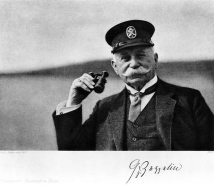 Count Ferdinand von Zeppelin, German airship maker, c 1910.