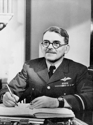 Sir Frank Whittle, English engineer, c 1940s.