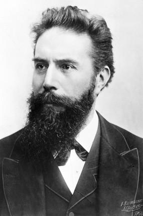 Wilhelm Conrad Roentgen, German physicist, c 1900.