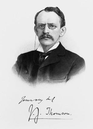 Sir Joseph J Thomson, c 1900s.