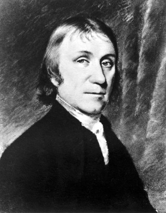 Joseph Priestley, English-American theologian and chemist, late 18th century.