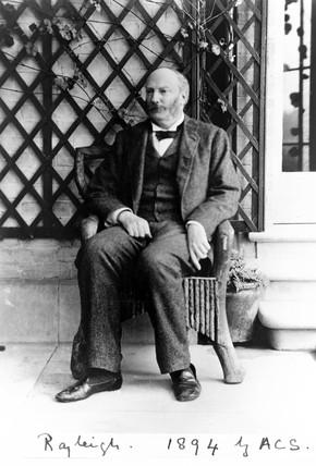 John William Rayleigh, British physicist, 1894.