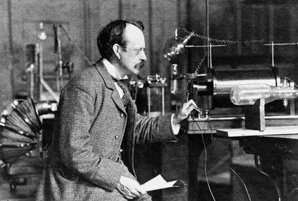 Sir Joseph John Thomson, English physicist, c 1900s.