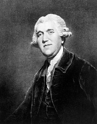 Josiah Wedgwood, English potter, c 1770.