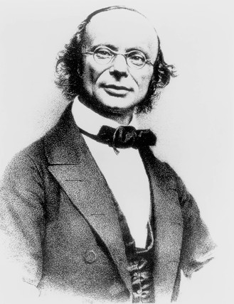 Wilhelm Eduard Weber, German physicist, c 1860s.