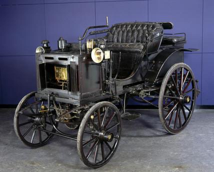 Panhard-Levasor 4 hp motor car, 1894.