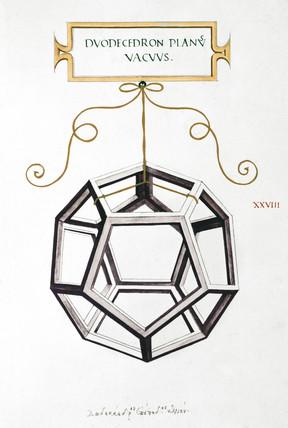 Da Vinci's Dodecahedron, 1509.