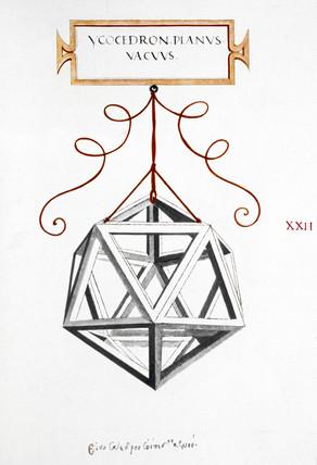 Da Vinci's Icosahedrons, 1509.
