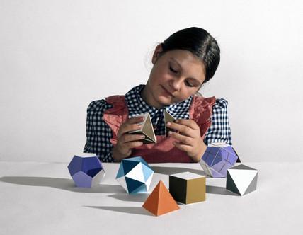 Polyhedra kit, 1980s.