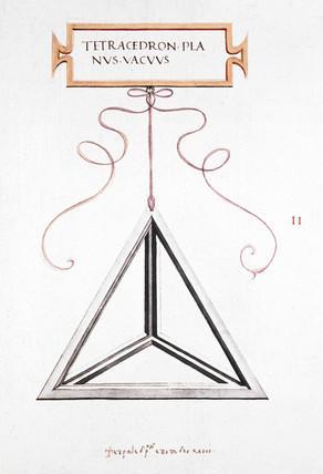 Da Vinci's Tetrahedron, 1509.