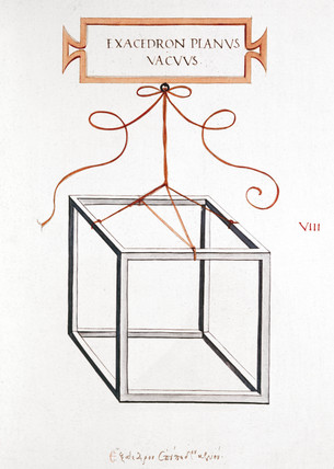 Da Vinci's Cube, 1509.