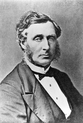 Thomas Sutcliffe Mort, English pioneer of commerce, mid 19th century.