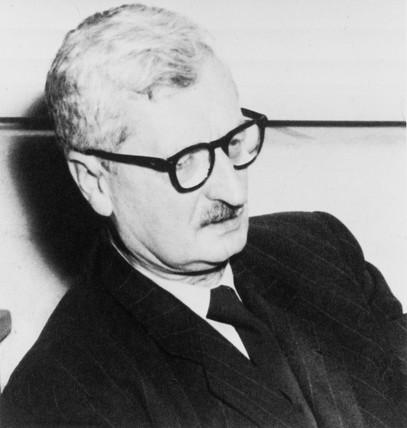 Hermann Julius Oberth, Austro-Hungarian lecturer, c 1960.