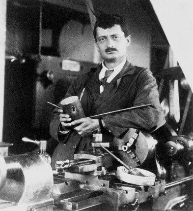 Hermann Julius Oberth, Austro-Hungarian lecturer, 1930.