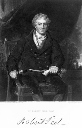 Sir Robert Peel, English manufacturer, early 19th century.