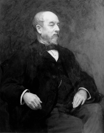 Sir John Pender, English pioneer of sub-marine telegraphy, c 1880.