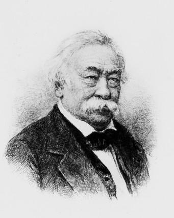 Josef Max Petzval, Hungarian mathematician, c 1885.