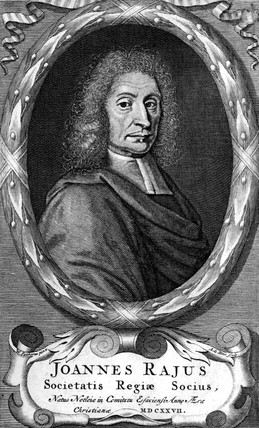 John Ray, English naturalist and pioneer of plant taxonomy, 1700.