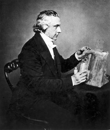 Joseph Bancroft Reade, English chemist and microscopist, mid-19th century.