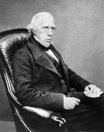 George Rennie, civil and railway engineer, c 1850-1859.
