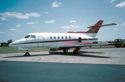 British aerospace Ba125 CC2, 1995.