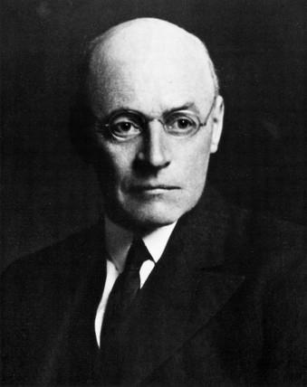Sir Owen Willans Richardson, English physicist, early 20th century.