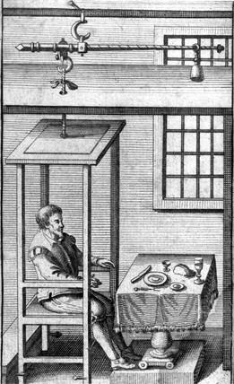 Santorio Sanctorius, Italian physician, 1728.