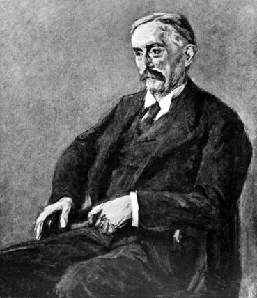 Dr Otto Schott, German chemist, early 20th century.