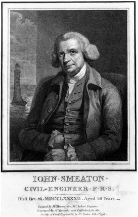 John Smeaton, English mechanical and civil engineer, c 1770.