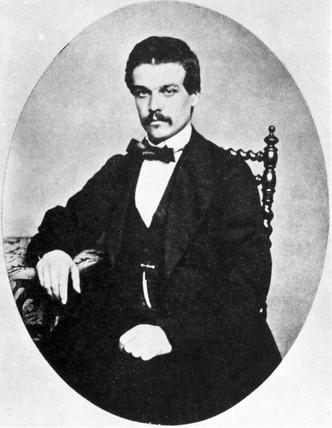 Ernest Solvay, Belgian manufacturer, 19th century.