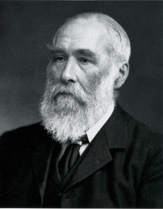Sir Thomas Stevenson, engineer and meteorologist, c 1880s.