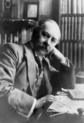 Silvanus Phillips Thompson, English physicist, c 1900s.