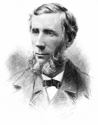 John Tyndall , British physicist, c 1880s.