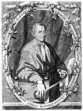 Joannes Baptiste van Helmont, Belgian chemist and physician, c 1630s.