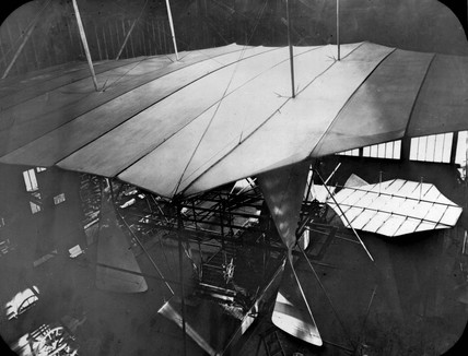 Maxim's flying machine, c 1894.