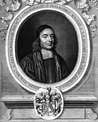 John Wallis, English mathematician, 1678.