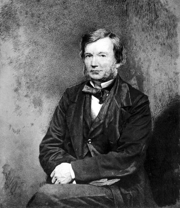 Bennet Woodcroft, English clerk to the commisioners of patents, c 1840s.