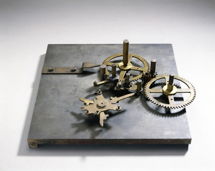 Experimental asembly for Babbage's Analytical Engine, 1834-1871.
