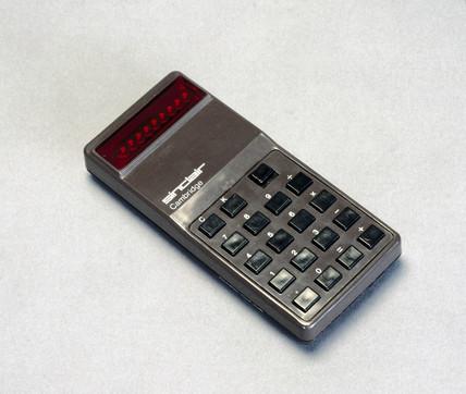 Sinclair Cambridge pocket calculator, 1973.