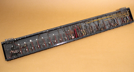 The receiver unit of the ENIAC calculator, c 1946.