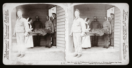 'Rest, Hero, rest! A scene at Wynberg Hospital, Cape Town', 1900.
