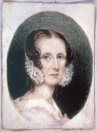 Elizabeth Bell, mother of Alexander Graham Bell, c 1840s.