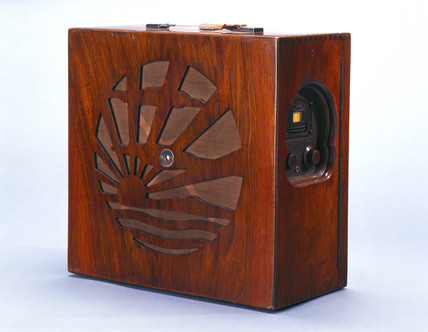 Pye portable radio, 1929.