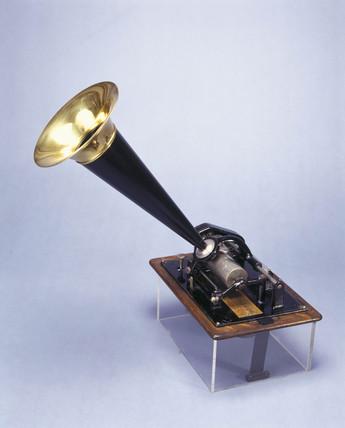Edison Phonograph, c 1880.