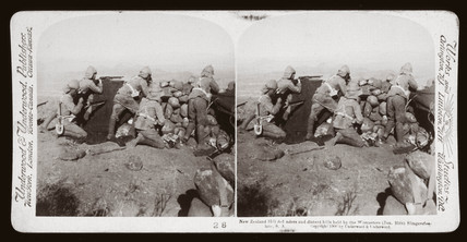 'New Zealand Hill defenders, Slingersfontein, South Africa', 1900.