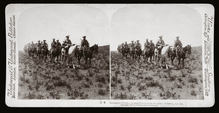 'Remington's Scouts, Colesberg Jan 3rd', South Africa, 1900.