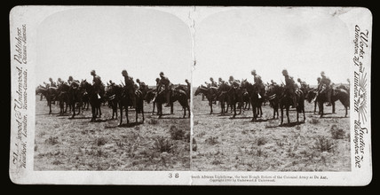 'South African Lighthorse at De Aar', South Africa, 1900.