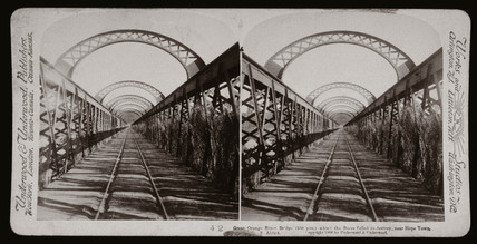 'Great Orange River Bridge, near Hope Town, South Africa', 1900.