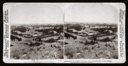 'Johannesburg, looking southwest from Hospital Hill, South Africa', 1900.