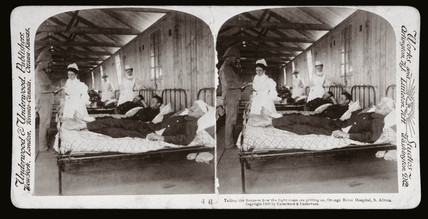 'Orange River Hospital, South Africa', 1900.
